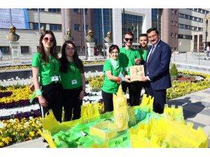 Keçiören Belediyesi Erasmus Plus kapsamında 7 ülkeden gençlerin katılımıyla  Dünyayı Yeşil Yapalım projesini gerçekleştirdi