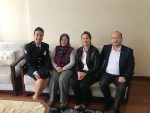Şehit aileleri ve gaziler ziyaret edildi
