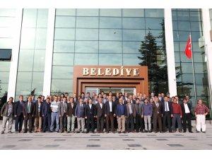 Suluova Belediyesi yeni binasında