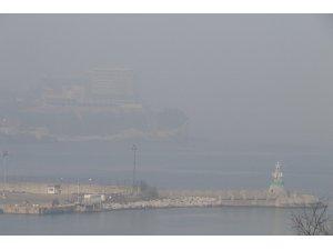 Zonguldak sis etkili oldu, görüş mesafesi 20 metreye kadar düştü
