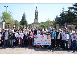 Başkan Vekili Nihat Can, Ardahanlı öğrencileri ağırladı