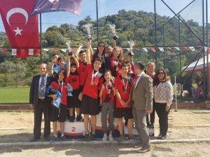 Çakırbeyli Ortaokulu'nda atletizm şenliği