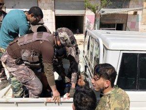 Patlamada yaralanan ÖSO askerine ilk müdahaleyi özel harekatçılar yaptı