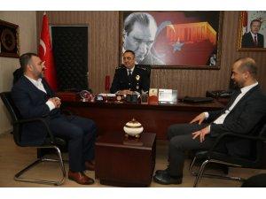 Başkan Ercan'dan polise destek