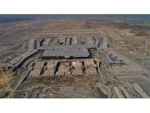 3.havalimanı inşaatında son durum havadan görüntülendi