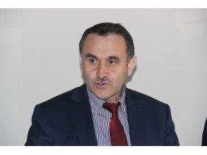 Erzurum Orman Bölge Müdürü Şaban Bıyıklı gazetecilerle bir araya geldi