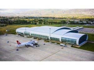 Erzincan Havalimanı'nda Mart ayında 40 bin 83 yolcuya hizmet verildi