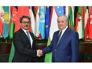 Bangladeş Dışişleri Bakanı Alam Özbekistan'da