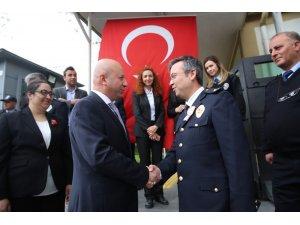 Başkan Çolakbayrakdar'dan Polis Teşkilatına ziyaret