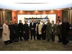 Başkan Çolakbayrakdar, AK Parti Kocasinan Kadın Kollarını ağırladı