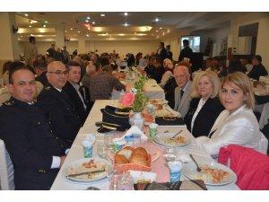 Bilecik Emniyeti'nden emekli ve çalışanlara yemek verildi
