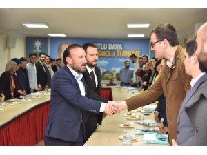 Başkan Doğan'dan AK Partili gençlere ziyaret