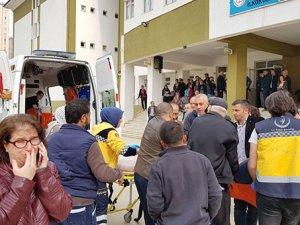 Bursa'da polis memuru veli okulda dehşet saçtı!