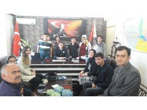 Kula'da özel öğrencilerden emniyete anlamlı ziyaret