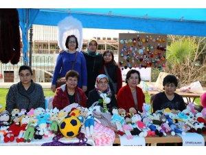Efeler Belediyesi el sanatları pazarı açıldı