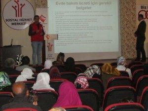 Engelli bakıcılarına seminer