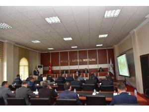 Vali Elban projeleri anlattı