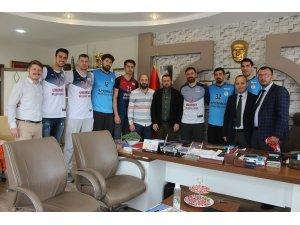 Umurbey Belediyespor yeni transferlerini tanıttı