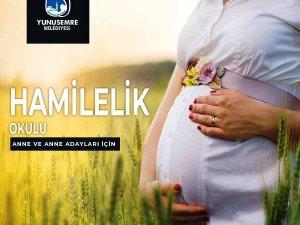 Yunusemre Belediyesi hamilelik okulu açıyor