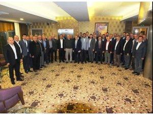 BSO Başkan Adayı Eğinlioğlu, Bandırma'da iş dünyası ile buluştu