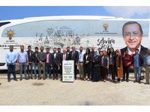"""""""Şehrim 2023"""" otobüsü İskenderun'da"""