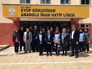 Lise Öğrencilerinden Polis Haftası etkinliği