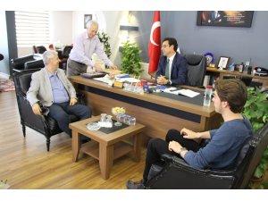 Başkan Toyran'dan Emniyet Müdürü Yalçın Şipal'e ziyaret