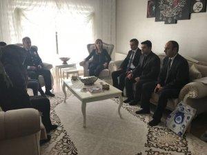 Kaymakam Uçar'dan Şehit Güntin'in ailesine ziyaret