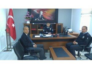 Arguvan Belediye Başkanı Kızıldaş'tan İlçe Emniyet Amirliğine ziyaret