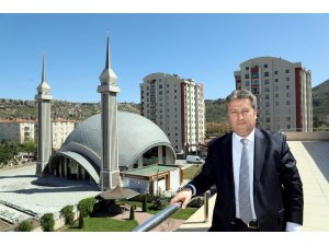 Kayseri'nin en farklı mimarisine sahip camisi resmi açılışa hazır