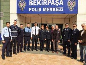Zabıta'dan polislere ziyaret