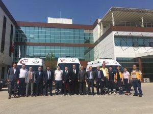 Yenice'ye 4x4 ambulans
