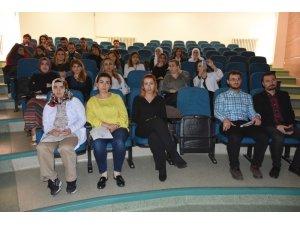 Altın Portakal ödüllü oyuncu Nuray Yeşilaraz  OMÜ'de
