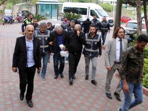 Kemer'deki 'mafya lideri' cinayetinde 6 kişi adliyeye sevk edildi