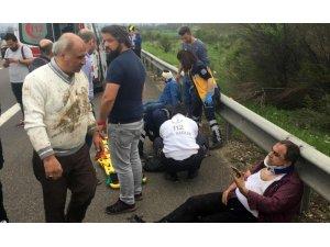 TEM'de can pazarı: 1 ölü, 4 yaralı