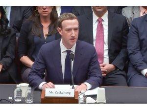 Facebook'un CEO'su Mark Zuckerberg 5 saat ifade verdi