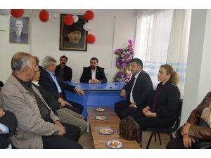 Beşiktaş Belediye Başkan Yardımcısı Tüy Besni ilçesinde temaslarda bulundu