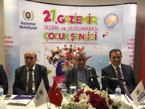 Dünya çocukları Gaziemir'de buluşacak