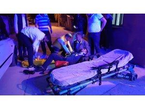 Kadirli'deki motosiklet kazasında bir kişi yaralandı