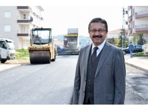 Başkan Tiryaki Altındağ'da asfalt sezonunu başlattı