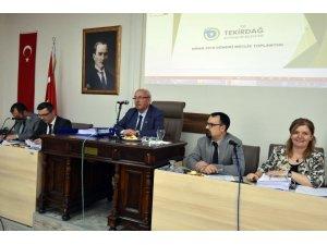 Tekirdağ Büyükşehir Belediyesi Nisan Ayı Meclis Toplantısı