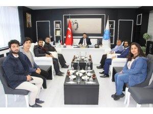 Yapı Topluluğu Rektör Karacoşkun ile bir araya geldi