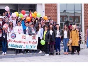Ardahanlı öğrencilerden Şeyh Edebali Üniversitesi'ne ziyaret