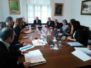 Başkan Başer, Ankara'da 'Aizonai Penkalas-Kocaçay' projesi toplantısına katıldı