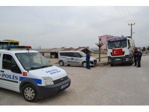 Şuhut'ta egzoz gazı emisyon ölçüm rapor denetimi yapıldı