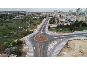 Ahmet Şireci Bulvarı yolu trafiğe açıldı