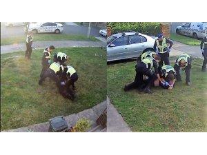 Avustralya polisinden engelli vatandaşa şiddet