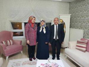 Niğde Belediye Başkanı Özkan'dan şehit ailelerine ziyaret
