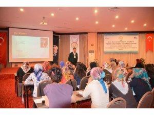 Tarımda genç kadın girişimciler eğitime başladı