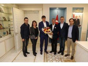 Türel, AGC ve TSYD yönetimini ağırladı